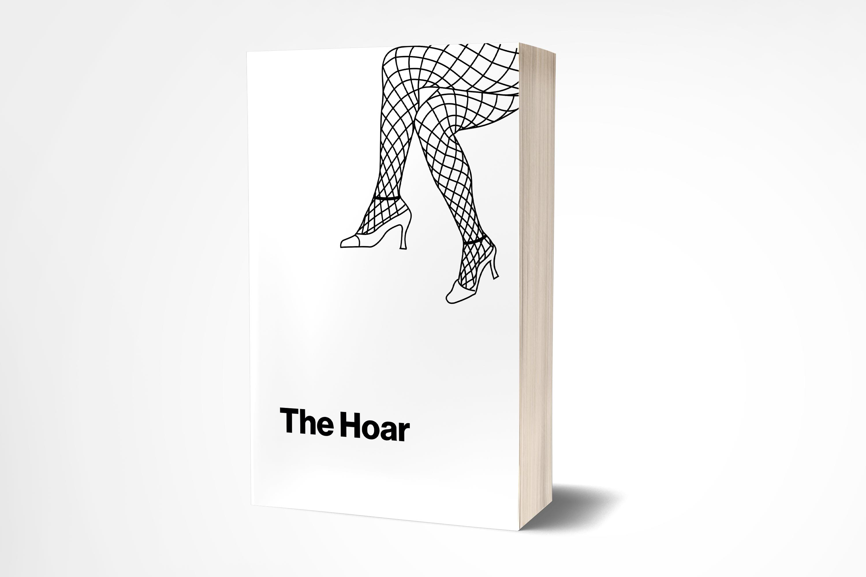 Image of the mainly-white Hoar book on a white backdrop